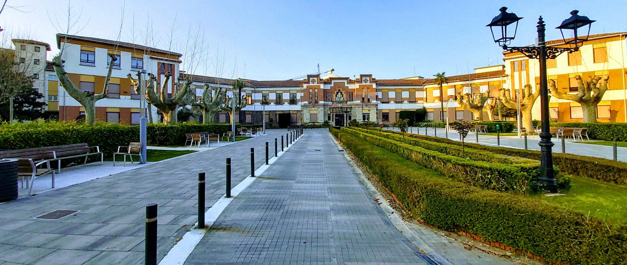 Portada De La Casa De Misericordia De Pamplona
