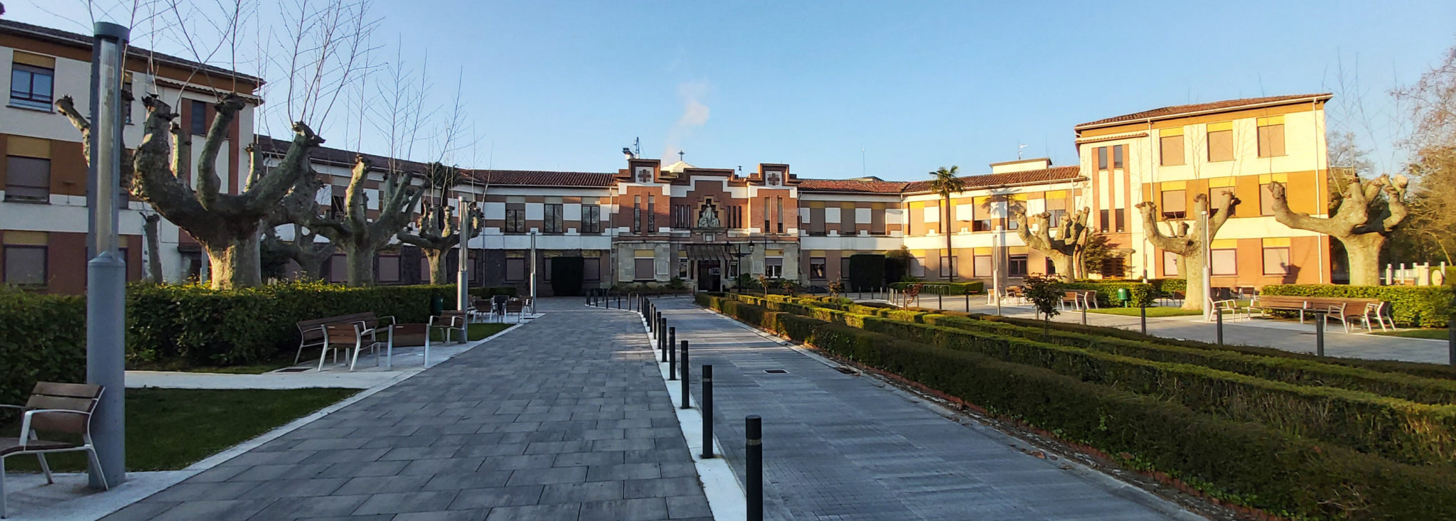 Fachada Casa de Misericordia Pamplona