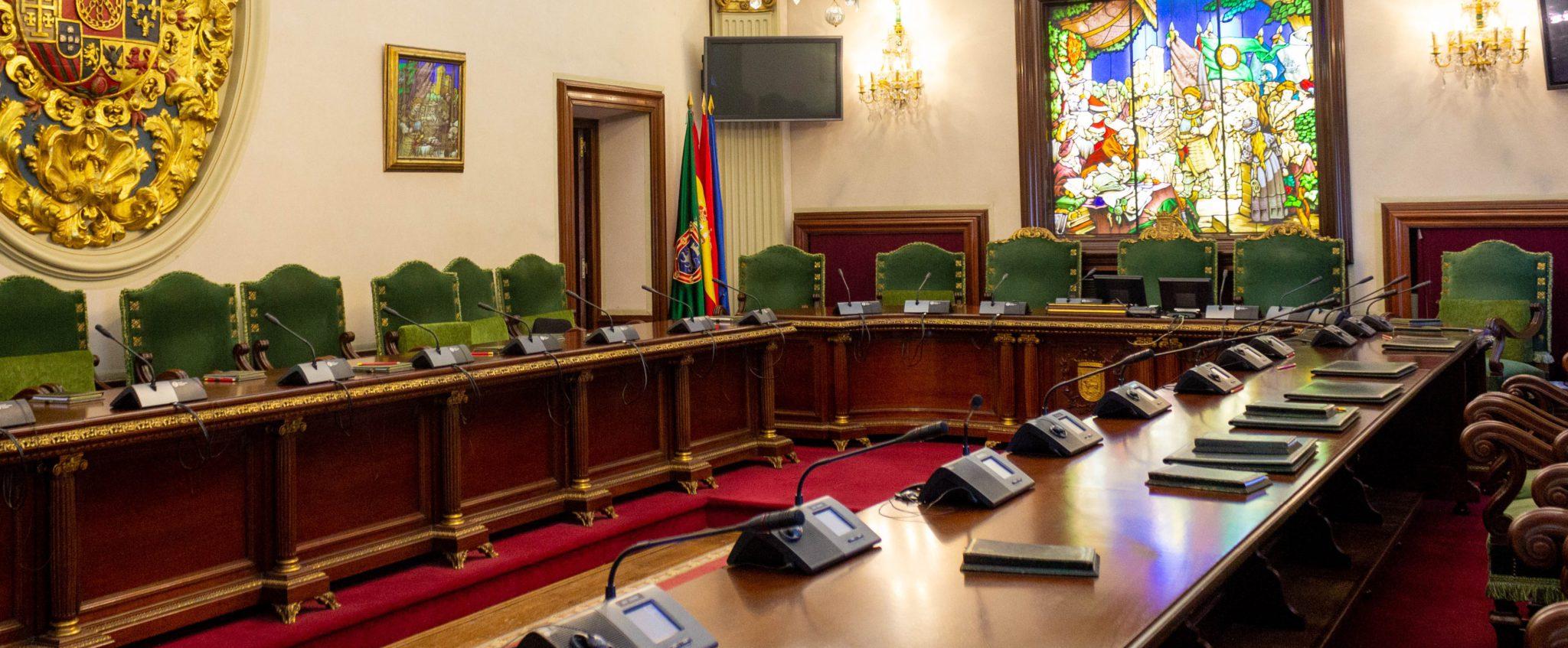 salón Plenos Ayuntamiento de Pamplona