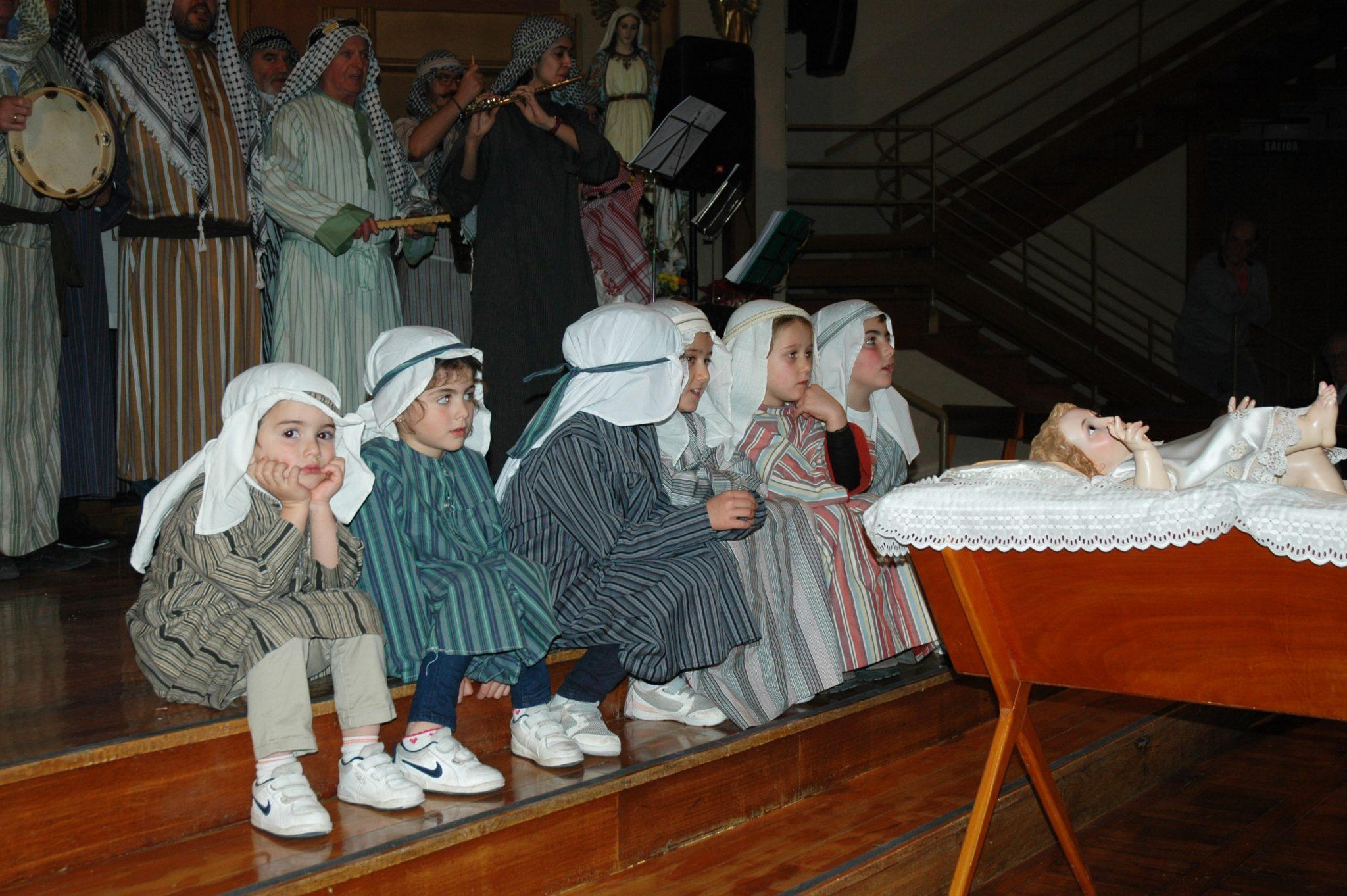 Actuación De Los Pastores De Belén En La Casa De Misericordia