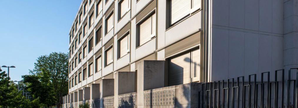 Fachada edificio nuevo Casa de Misericordia