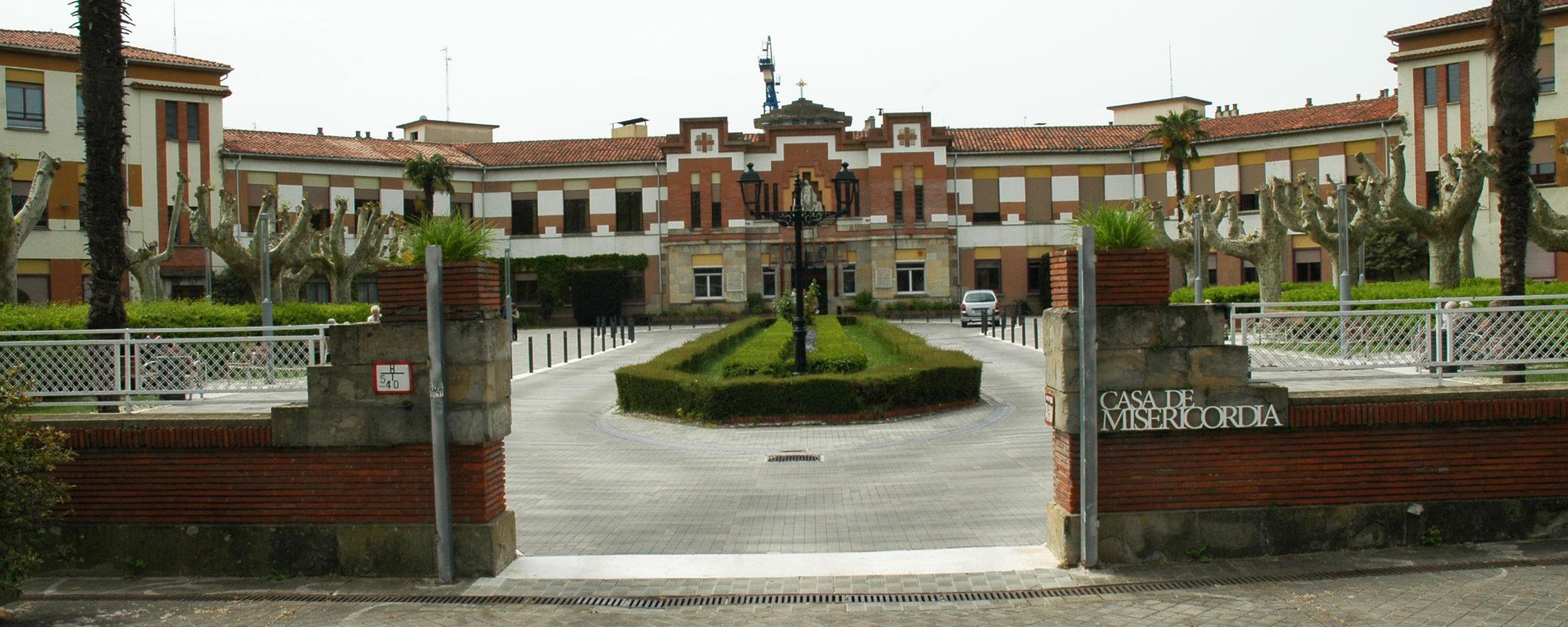 Puerta Principal de la Casa de Misericordia (Archivo)