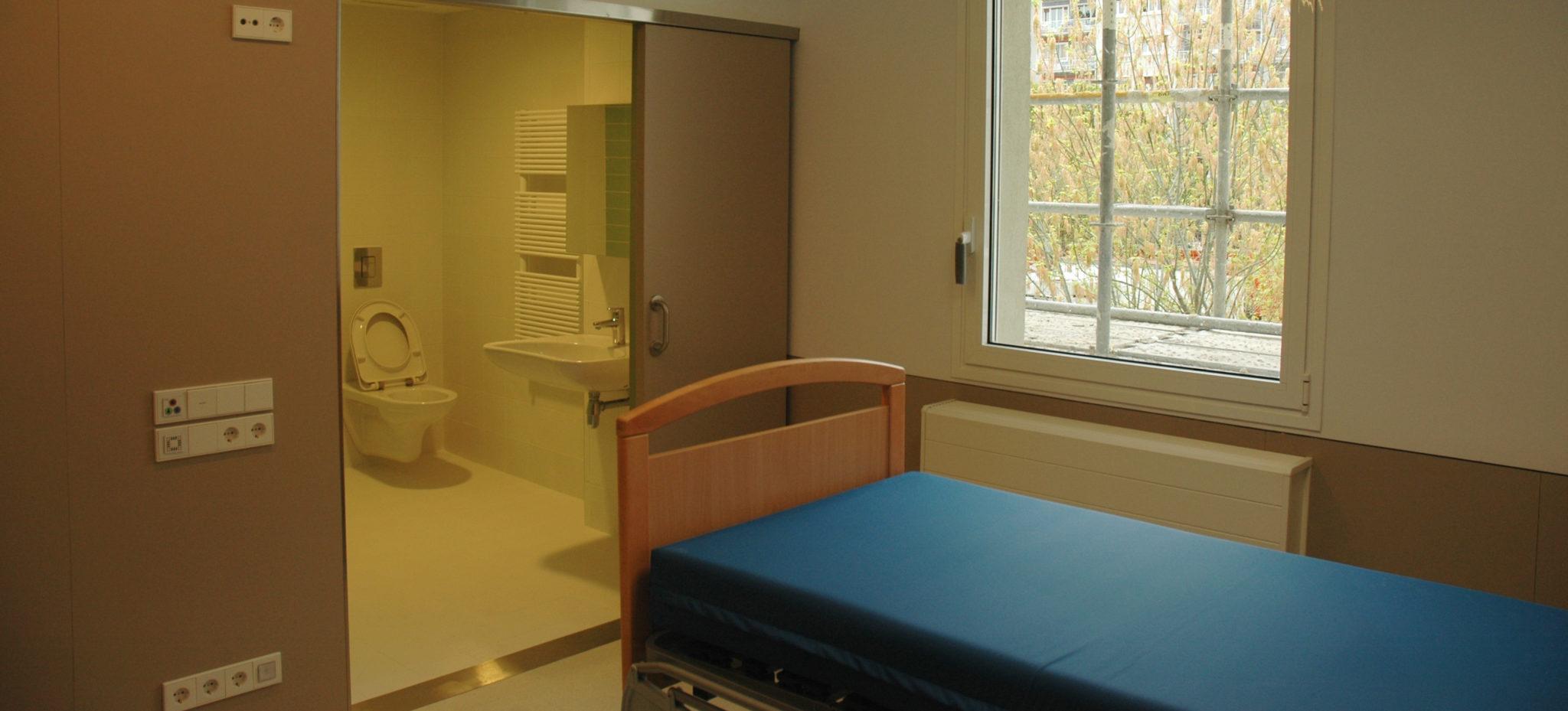 Habitación De La Nueva Planta De Enfermería De La Casa De Misericordia