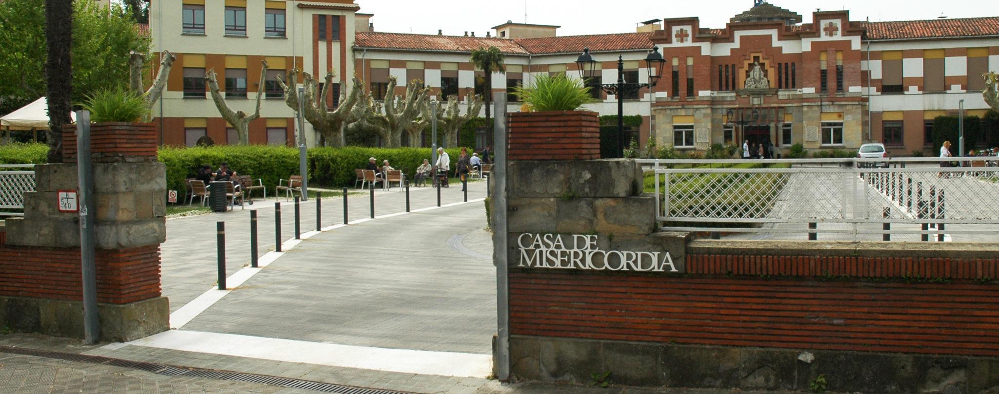 Puerta exterior de la Casa de Misericordia