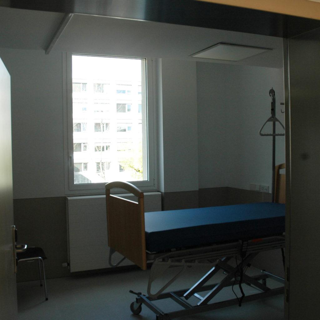 Habitación De La Nueva Planta De Enfermería