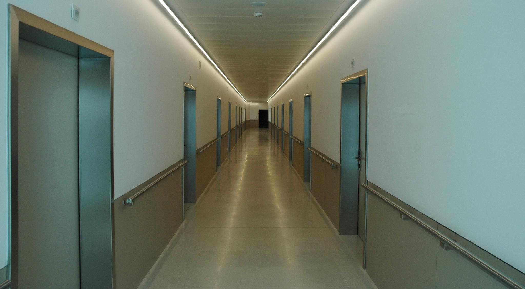Pasillo de la Nueva enfermería
