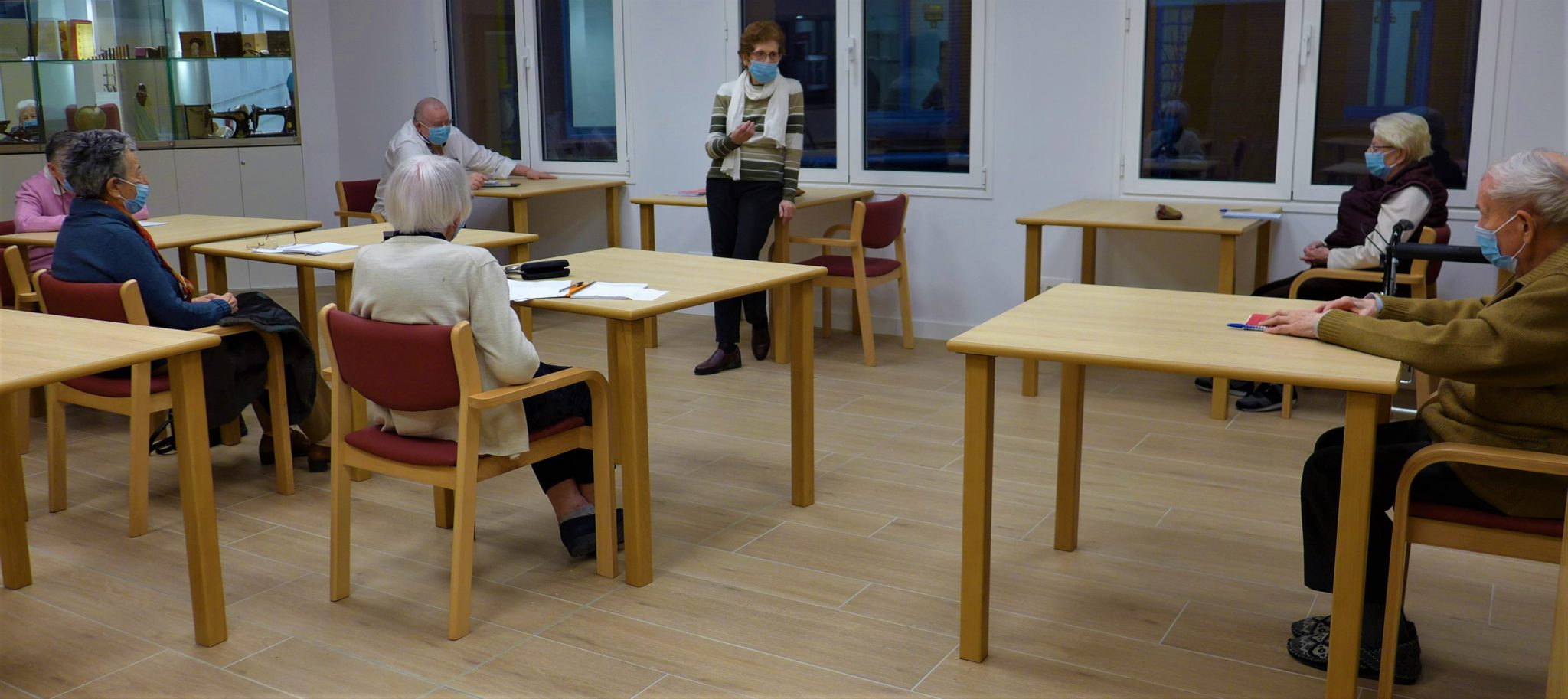Participantes en el taller de escritura creativa